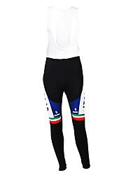 Kooplus - Italian National Team Cycling Fleece Long Bib Pants