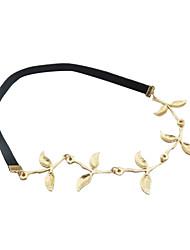 Estilo Romântico Olive Leaf Headband Para Mulheres