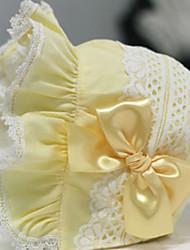 Girl's Crochet Splicing Hem Hat