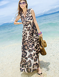 Women's Dresses , Polyester Beach Khutoria
