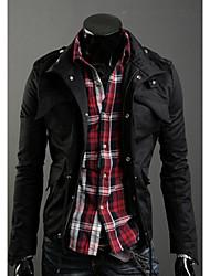 Manteau Shangdu mode épaississent (Noir)