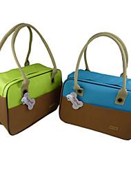 Nylon Outdoor Net Fashion Handbag vettore per Animali Cani (colori assortiti)