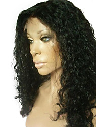 18inch 100% Indian Human Hair Lace Front Wig