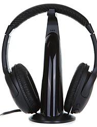ouvido de 3,5 mm ao longo do ouvido com microfone para computador
