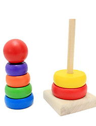 Rainbow Tower Ring Learning Toy For Kids