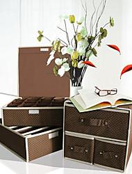 Set 3 Land Tupfen-Muster Aufbewahrungsboxen
