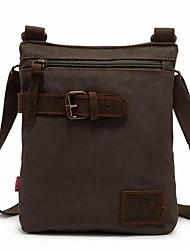 Fine Canvas Shoulder Messenger Bag