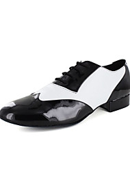 Special Men's PU And Patent PU Stitching Oxford Style Modern/Latin Ballroom Dance Shoes(More Colors)