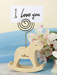 Place Cards and Holders Pony Wood Placecard Holder