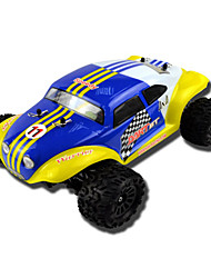 1/18 Scale 4WD Brushless Baja (cores sortidas)