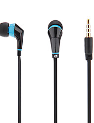 Flat Cable Style In-Ear Earphone