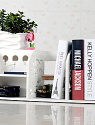 Modelo blanco Novela Moderna escritorio Book Shelf