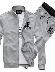 Nouvelle Arrivée Hommes Hoodies Fashion Coat Taille Plus Sport Set