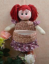 Cartoon Doll Viola Basket archiviazione