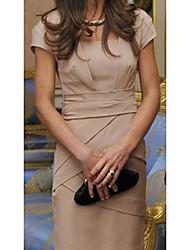 Élégant Office Lady robe mince des femmes