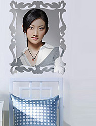 Mirror Wall Stickers, Magic Silver Mirror