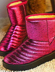 Suede Women's Flat Heel Snow Boots Ankle Boots(More Colors)