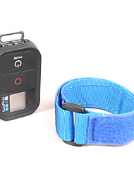 Blue Nylon fastener tape Belt for Remote without the Wifi Rremote Shown(Gopro Hero3)