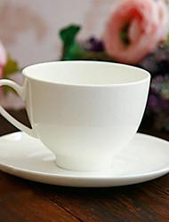 Elegante tazza di caffè, porcellana 8 once