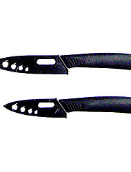 3PCS/set, Ceramic Knives Set, 3 inch/4 inch Knives and 1pc Peeler