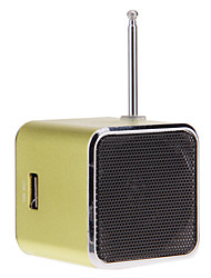 Portable Mini Speaker Subwoofer TF Card Digital Mp3 Sound Box With Fm Antenna (Tdv26)
