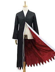 Inspired by Cosplay Cosplay Anime Cosplay Costumes Cosplay Suits Patchwork Black Long Sleeve Cloak