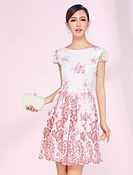 Precioso País princesa vestido de las mujeres de las flores (modelo aleatorio)