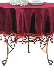 "Solid Table Cloth, Velvet 40""*40"""
