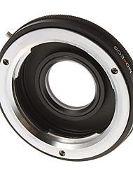 Adapter Ring verre MD-EOS Camera Lens (Black)