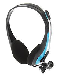 Y-6190MV stéréo Super-basses Casque supra-auriculaire pour MP3, MP4, téléphone portable, ordinateur
