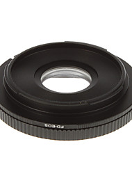 FD-EOS Camera Lens Glas Adapter Ring (Zwart)