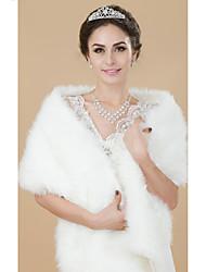 Faux Fur Wedding/Party Wraps Bolero Shrug