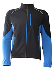 JAGGAD Men's Cycling Tops / Jerseys Long Sleeve Bike Spring / Autumn / WinterBreathable / Wearable / Windproof / Thermal / Warm / Fleece