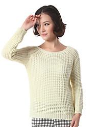 superior del suéter espesar los towm de las mujeres