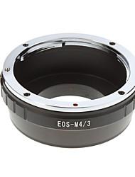 Кольцо EOS-M4 / 3 объектива камеры адаптер (черный)