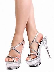 Women's Stiletto Heel Platform Sandals Shoes