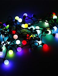 Гирлянда длиной 5м 3W с 50 шарообразными светоидами RGB (220V)