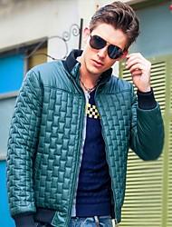 Man's Stand Collar Casual Slim Fit Coat