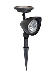 As lâmpadas de LED de luz 1pcs Solar gramado luz spot Solar 3 brilhantes para jardim (CIS-57140)