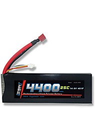DLG 14.8V 4400mAh 4S 25C Lipo Battery