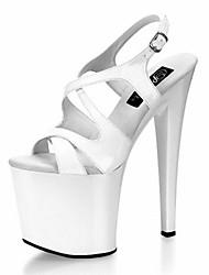 Women's Stiletto Heel Platform Sandals Shoes(More Colors)