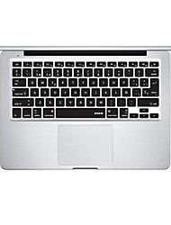 XSKN Silicon Laptop Keyboard Skin Cover for MacBook PRO MacBook Air Spanish Language Layout