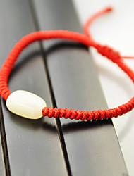 Yueren Knitted Jade Bracelet With 1 Beads
