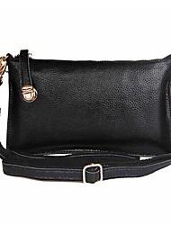 Frauen 100% echtes Leder Messenger Bag Tag erfasst