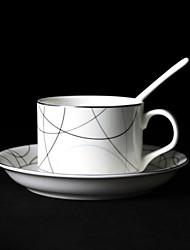 Modern Coffee Mug,Porcelain 5oz