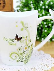 Uncaria tomentosa tazza di caffè, porcellana 11 once