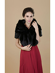 Wedding / Party/Evening Faux Fur Coats/Jackets