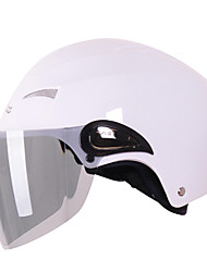 v5 anti-uv abs motocicleta medio casco de material (colores opcionales)