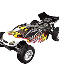 1/10 Scale 4WD elétrica escovado RC Truggy RTR (Black)