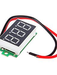 Ultra-Pequeño Syc430X! con polaridad inversa Protección \ 4.0 30V (de dos hilos) del voltímetro del coche \ Motocicleta digital